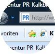 Adresszeile Browser
